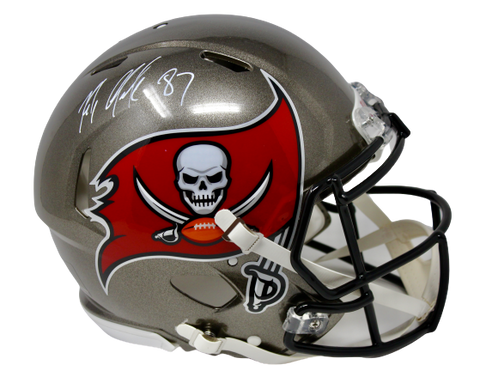 Rob Gronkowski Tampa Bay Buccaneers Signed Authentic Speed Helmet JSA
