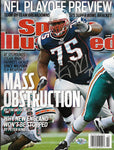 Vince Wilfork New England Patriots Signed Autograph Sports Illustrated Magazine