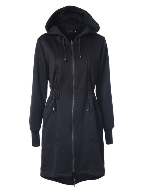 AUTUMN COAT ZIP UP OUTERWEAR