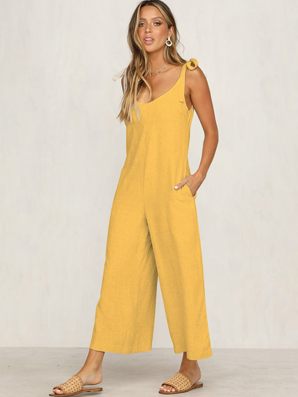 Loose Straps Jumpsuit
