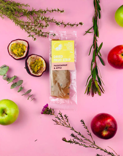 Passionfruit & Apple Dried Fruit Strip
