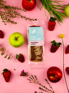 Strawberry & Apple Dried Fruit Strip