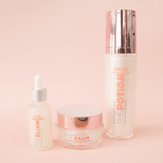Full Souffle Beauty Skincare Set Probiotic Serum Balm and Toner