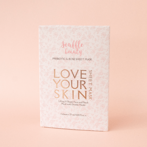 Souffle Beauty Prebiotic Sheet Mask with Double Hooks
