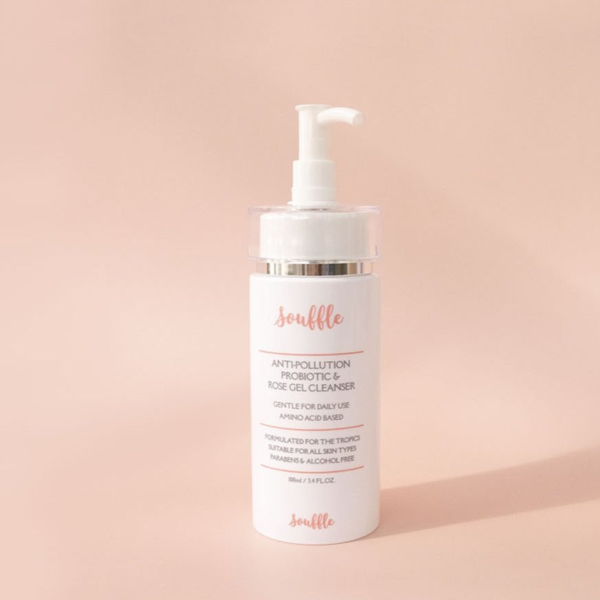 Probiotic & Rose Gel Cleanser by Souffle Beauty