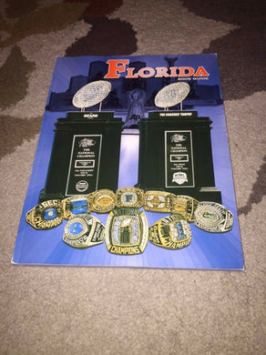 2008 FLORIDA GATORS COLLEGE FOOTBALL MEDIA GUIDE b5