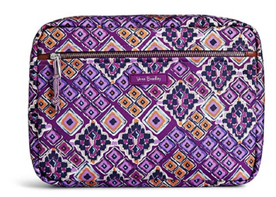 Vera Bradley Lighten Up Seat Back Organizer Dream Diamonds Purple - 23181