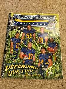 2008 NORTHERN ARIZONA UNIVERSITY NAU COLLEGE  FOOTBALL MEDIA GUIDE b5