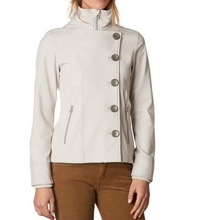 Load image into Gallery viewer, PrAna Women's Martina Jacket Coat Sand/Beige or Black Soft Shell Water Res $159