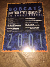Load image into Gallery viewer, 2001 MONTANA STATE UNIVERSITY  COLLEGE FOOTBALL MEDIA GUIDE b4