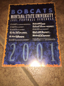 2001 MONTANA STATE UNIVERSITY  COLLEGE FOOTBALL MEDIA GUIDE b4