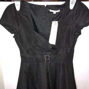 Anthropologie NANETTE LEPORE Will Survive Dress Women's BLACK Size 2 - $395
