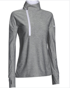 Under Armour Hotshot 1/2 Zip Womens Long Sleeve Pullover 1270500 Color/Sizes $60