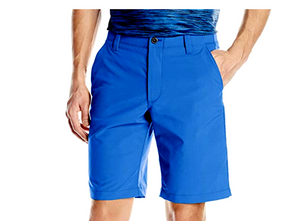 Under Armour Mens Match Play Textured Golf Shorts HeatGear Royal Blue 1290156 31