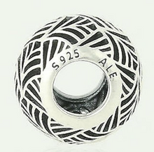 Load image into Gallery viewer, Authentic PANDORA Tropicana Openwork Silver Charm 791543 Sterling 925 Bead