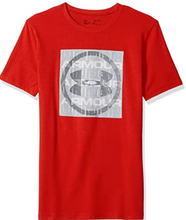 Load image into Gallery viewer, Under Armour UA Boy's Visualogo T-Shirt Youth Red & Grey 1305226  YSM or YLG