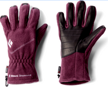 Load image into Gallery viewer, Black Diamond Women's Wind Fleece Gloves Liner Series - Wine - S or L - $50