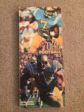 Load image into Gallery viewer, 1983 UCLA UNIVERSITY OF CALIFORNIA LA BRUINS FOOTBALL BOOK MEDIA GUIDE B0X7