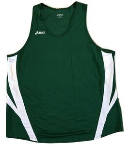 Asics Mens Medley Singlet Tank Top TF705 Forest Green (8101)  Choose Size M L XL