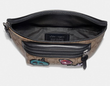 Load image into Gallery viewer, Disney X Coach Terrain Belt Bag In Signature Canvas Snow White 7 Dwar Eyes Print