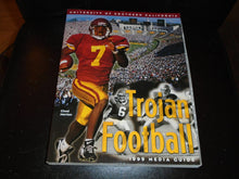 Load image into Gallery viewer, 1999 USC UNIVERSITY OF SOUTHERN CALIFORNIA COLLEGE FOOTBALL MEDIA GUIDE  BOX 1