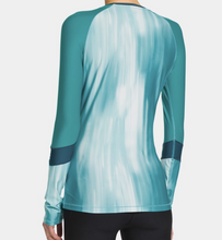 Load image into Gallery viewer, Under Armour UA Womens HeatGear Color Block Long Sleeve Fitted Shirt 1248567 XS