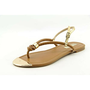 INC International Concepts Moirah Paris Tan Thong SANDALS Sz 5 M