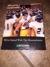Load image into Gallery viewer, 2004 WEST VIRGINIA MOUNTAINEER  COLLEGE FOOTBALL MEDIA GUIDE b4