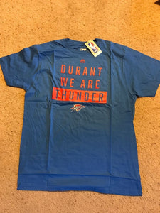 NBA Oklahoma City We Are Thunder Kevin Durant Mens Still The One Tee XL Majestic
