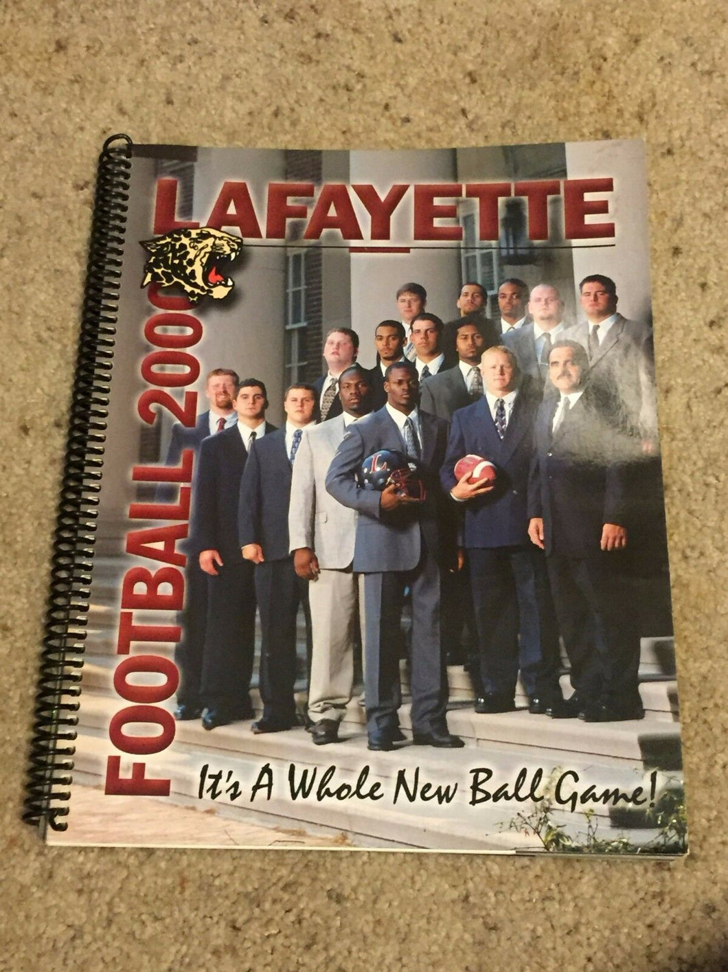 2000 LAFAYETTE LEOPARDS COLLEGE FOOTBALL MEDIA GUIDE b6