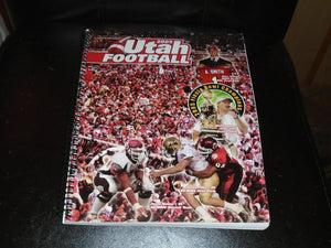 2005 UTAH COLLEGE FOOTBALL MEDIA GUIDE EX-MINT BOX 3