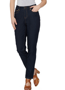 C. Wonder 5-Pocket Slim Leg Ankle Jeans - QVC - Light Indigo Women Size 6