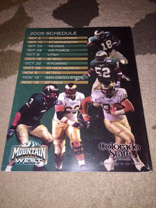 2005 COLORADO STATE COLLEGE FOOTBALL MEDIA GUIDE b5