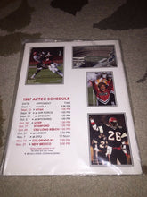 Load image into Gallery viewer, 1987 SAN DIEGO STATE COLLEGE FOOTBALL  MEDIA GUIDE b4
