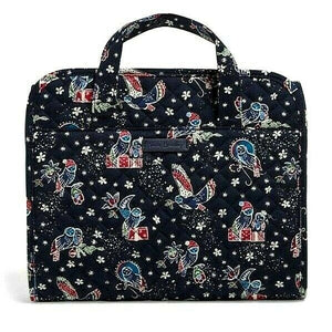 Vera Bradley Iconic Hanging Travel Organizer - Holiday Owls - Cosmetic Bag - $58
