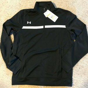 Under Armour UA Team Women's Campus 1/4 Zip Pullover Jacket -1239018  Black S
