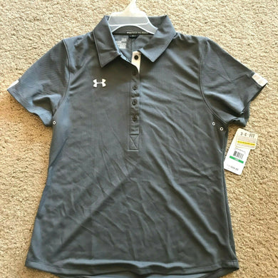 Under Armour UA Womens Coaches Polo II Coach's Semi Fitted - Colors & Size $50