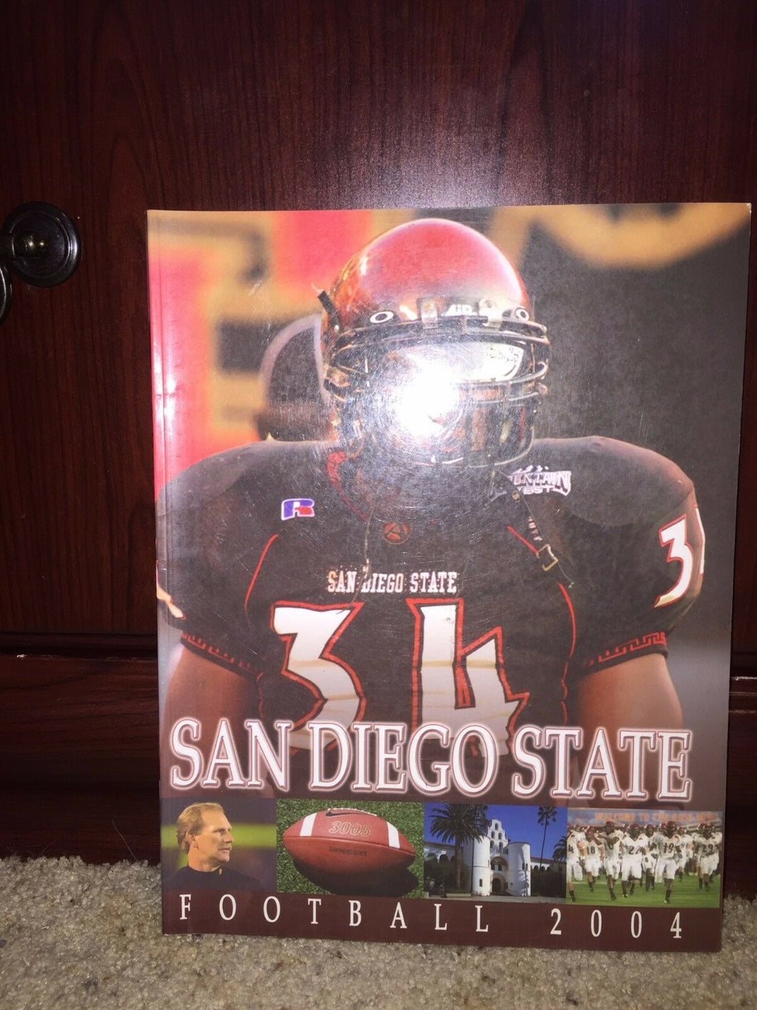 2004 SAN DIEGO STATE COLLEGE FOOTBALL MEDIA GUIDE - b3