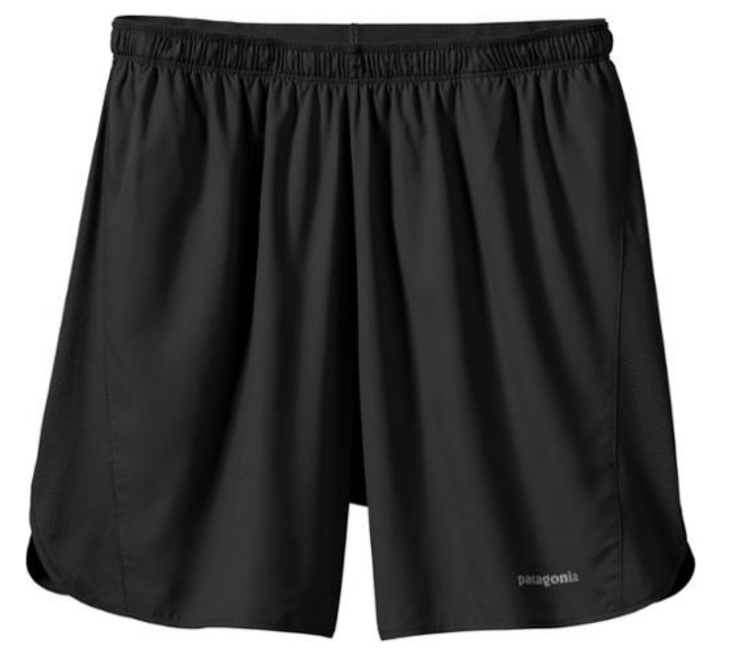 "Patagonia Mens Strider Running Shorts 7"" - 24648 - Black or Blue Sizes S-XL -$55"