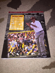 1999 USC UNIVERSITY OF SOUTHERN CALIFORNIA COLLEGE FOOTBALL MEDIA GUIDE  BOX 1