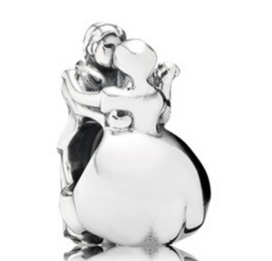 Authentic PANDORA Dancing Couple 791396 Sterling Silver 925
