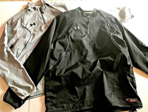 Under Armour UA Long to Short Sleeve Convertible 2n1 Baseball Jacket 1217747 $70