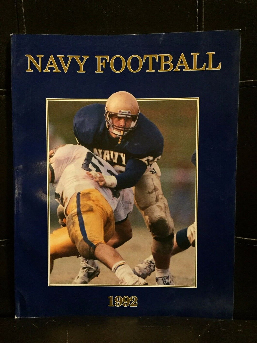 1992 NAVY COLLEGE FOOTBALL MEDIA GUIDE EX  BOX8