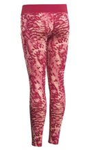 Load image into Gallery viewer, Under Armour HeatGear Girls Youth Printed Leggings Red - Sz L YL - 1250866 - $40