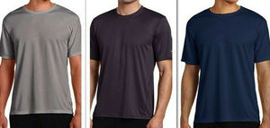 Asics Mens Core Short Sleeve Tshirt MR1105 - Grey Navy or Dark Grey Choose Size