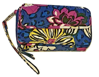 Vera Bradley  All In One Crossbody Wristlet  Iphone - African Violet 15863 - $68