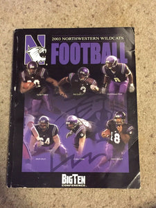 2003 NORTHWESTERN UNIVERSITY COLLEGE FOOTBALL MEDIA GUIDE b6