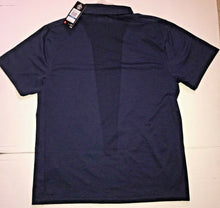 Load image into Gallery viewer, Under Armour UA HeatGear Loose Fit Mens Tour Polo Shirt 1298428 Navy Blue XL $70