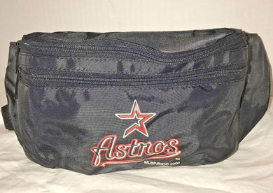 MLB Houston Astros BaseBall FANNY PACK Zippered Adjustable Waist