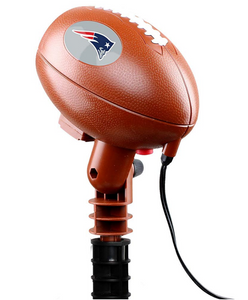 NFL Team Pride Light LED Projector Indoor/Outdoor New England Patriots Logo